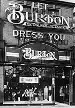 Montague Burton's shop