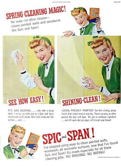 spick and span
